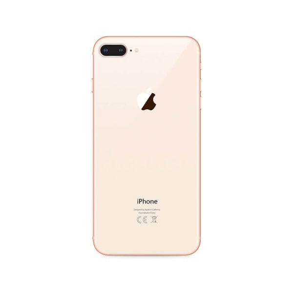 Refurbished iPhone 8 Plus Goud achterkant bij Mobisite