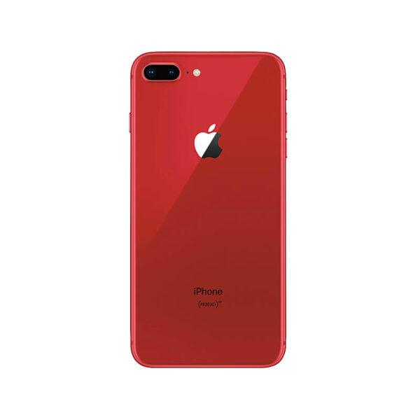 Refurbished iPhone 8 Plus Rood achterkant bij Mobisite