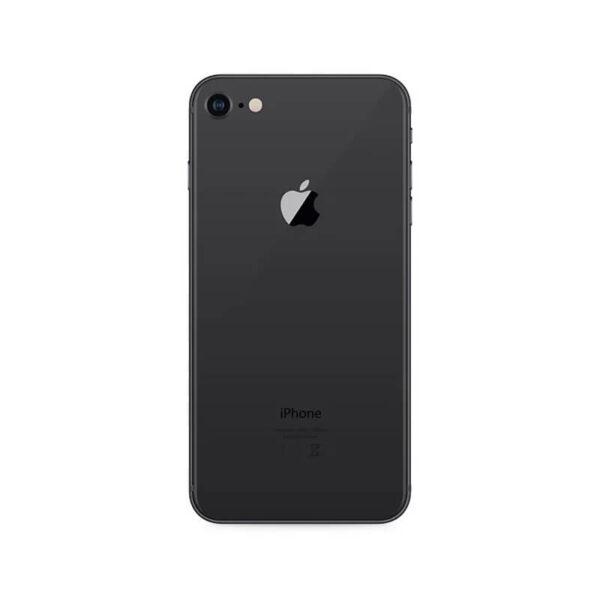 Refurbished iPhone 8 Zwart achterkant bij Mobisite