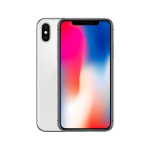 Refurbished iPhone X Zilver bij Mobisite