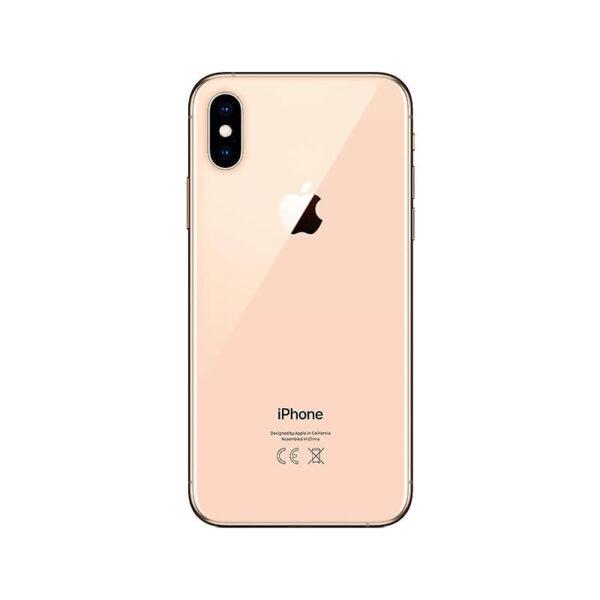 Refurbished iPhone Xs Goud achterkant bij Mobisite
