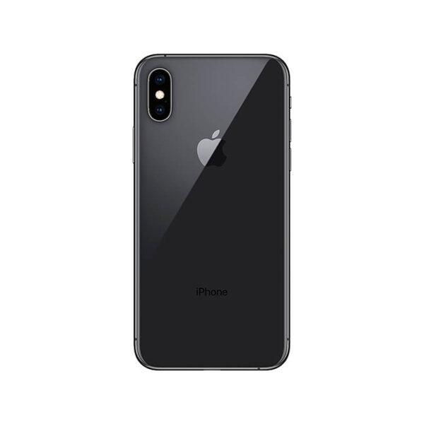 Refurbished iPhone Xs Zwart achterkant bij Mobisite