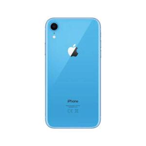 Refurbished iPhone XR Blauw achterkant bij Mobisite