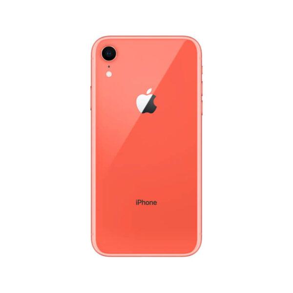 Refurbished iPhone XR Koraal achterkant bij Mobisite