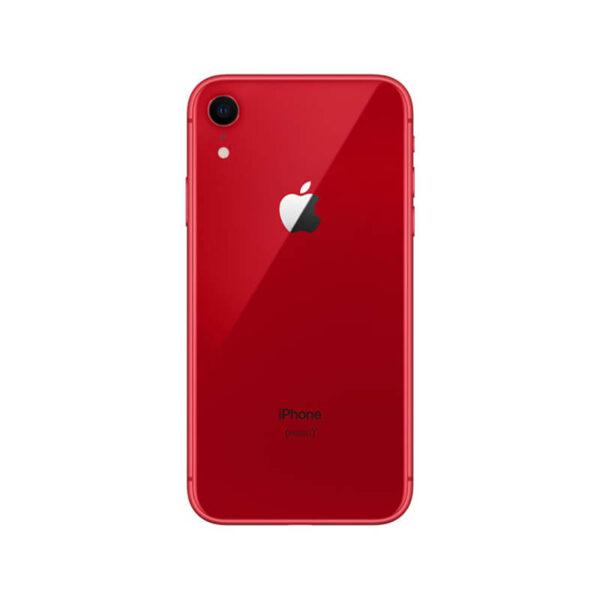 Refurbished iPhone XR Rood achterkant bij Mobisite