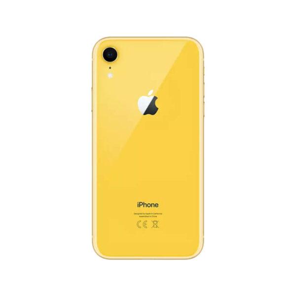 Refurbished iPhone XR geel Achterkant bij Mobisite