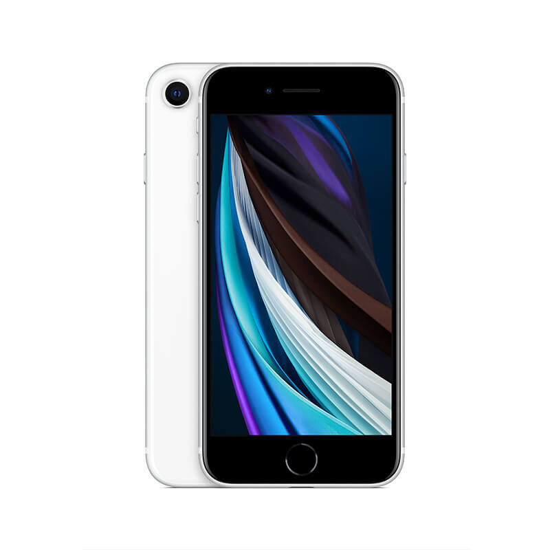 Refurbished iPhone SE 2020 Zilver bij Mobisite