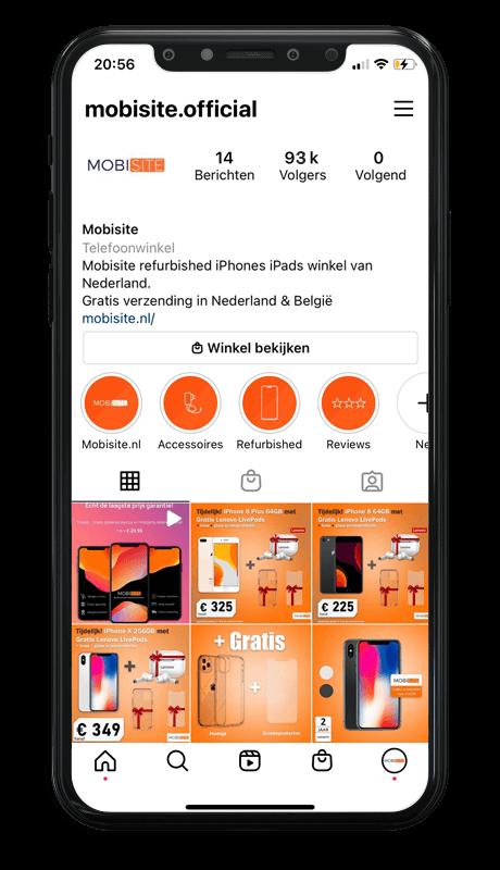 instgram mobisite.nl
